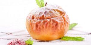 калорийность запеченных яблок