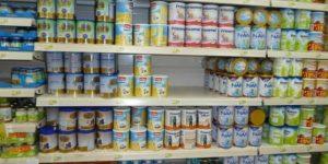 детское питание с пальмовым маслом