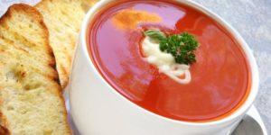 диетический томатный суп