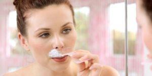 удаление усов с помощью крема