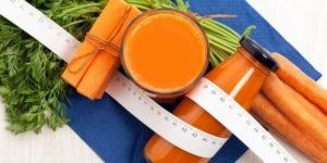 похудение на морковке