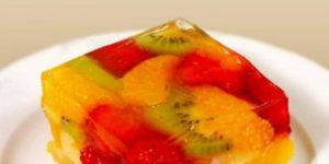 Желе из фруктов и ягод