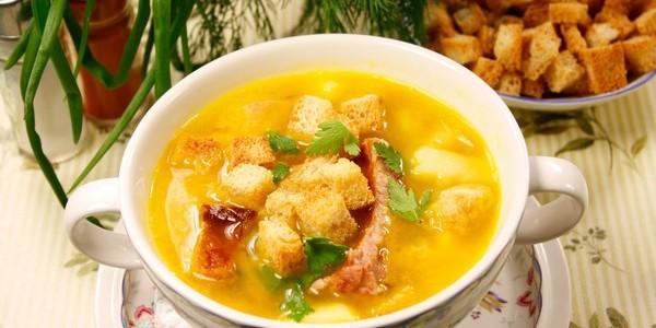 калорийность горохового супа