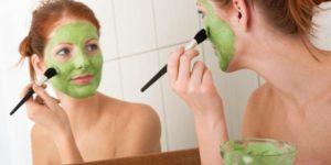 маска с горохом для лица