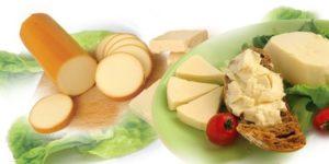 Содержание кальция в некоторых молочных продуктах