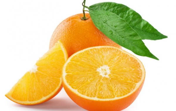 апельсины в разрезе