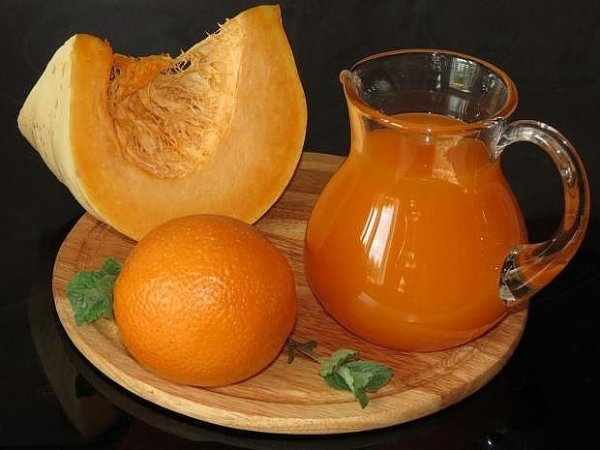 сок с апельсином