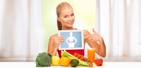 диета для подтянутого живота и боков