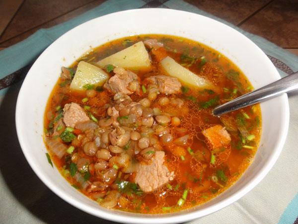 суп на бульоне