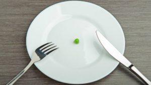 Мало еды