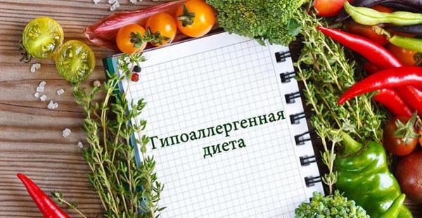 Гипоаллергенная диета список разрешенных продуктов