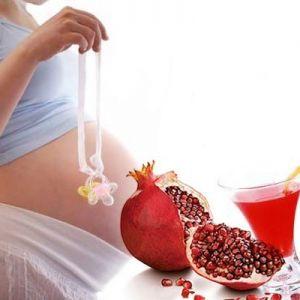 Употребление сока из граната при беременности