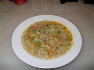 Суп на овсянке