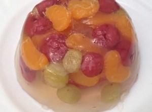 Желе из фруктов