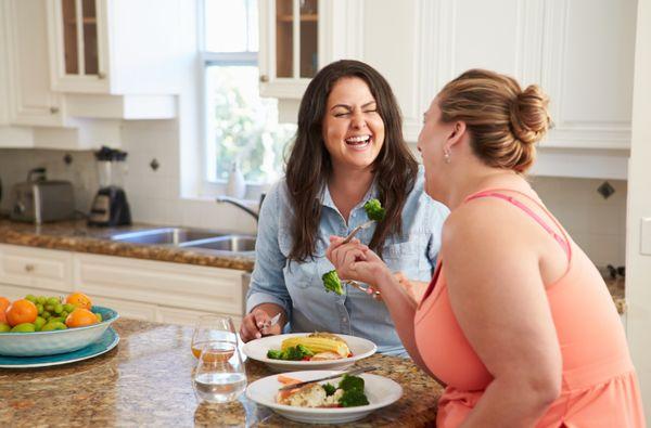 Употребление продуктов с низкой калорийностью